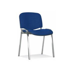 NOWY STYL Iso Chróm konferenčná stolička chrómová / modrá (C14)