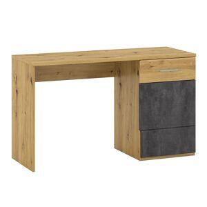 TEMPO KONDELA Eridan P2 pc stolík dub artisan / sivý betón