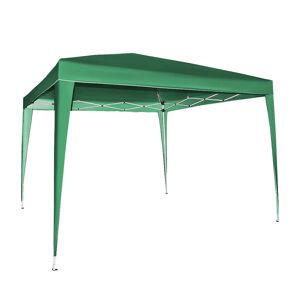 NABBI Pogy rýchlorozkladací záhradný altánok 300x300 cm zelená