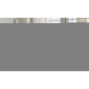 NABBI Portima 160 čalúnená manželská posteľ svetlosivá / čierna