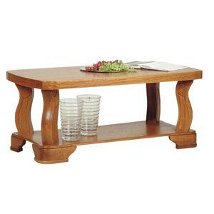 PYKA Fryderyk konferenčný stolík drevo D3