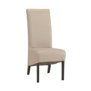 PYKA Modern jedálenská stolička wenge / krémová (Madras G100)