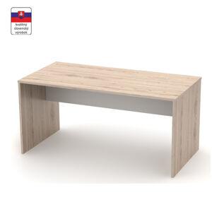 TEMPO KONDELA Rioma Typ 16 písací stôl san remo / biela