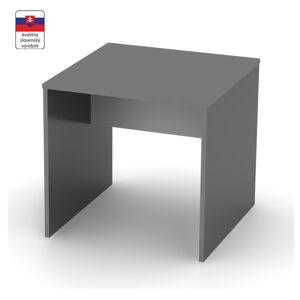 TEMPO KONDELA Rioma Typ 17 písací stôl grafit / biela
