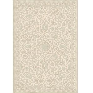TEMPO KONDELA Rohan koberec 67x210 cm krémová / vzor
