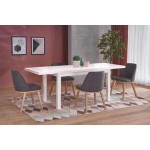 HALMAR Tiago 2 rozkladací jedálenský stôl biela