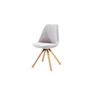 TEMPO KONDELA Sabra jedálenská stolička sivá / buk