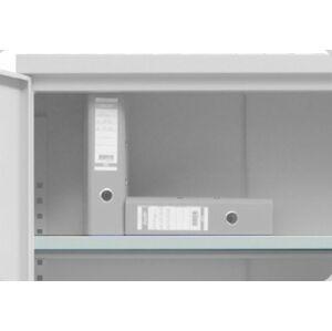 NABBI SB 1000 kovová prídavná polica do kancelárskej skrine svetlosivá