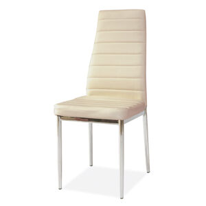 SIGNAL H-261 jedálenská stolička krémová