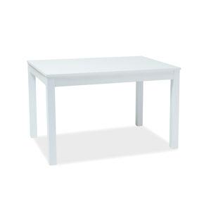 SIGNAL Prism rozkladací jedálenský stôl biela