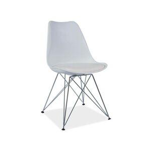 SIGNAL Tim jedálenská stolička biela