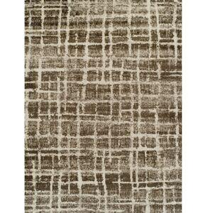 TEMPO KONDELA Stellan koberec 160x235 cm béžová / hnedá