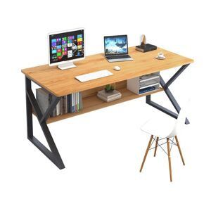 KONDELA Tarcal 80 písací stôl buk / čierna