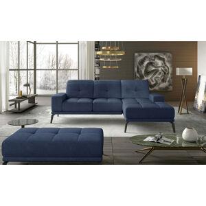 NABBI Tirreno P rohová sedačka modrá (Soro 76)