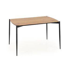 HALMAR Toristo jedálenský stôl dub zlatý / čierna