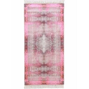 TEMPO KONDELA Veldar koberec 80x150 cm vínovočervená