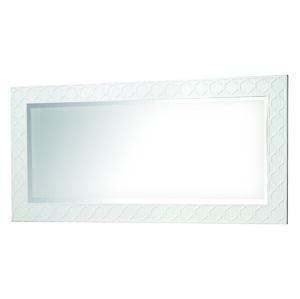 TARANKO Via VI-L1 zrkadlo na stenu biely mat