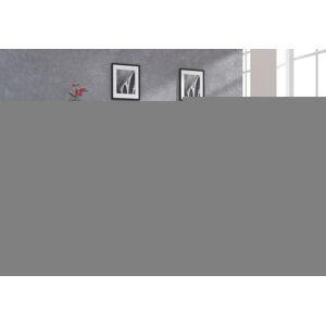 MEBLOCROSS York tv stolík sonoma svetlá / biely lesk
